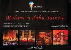 Plakat Taize