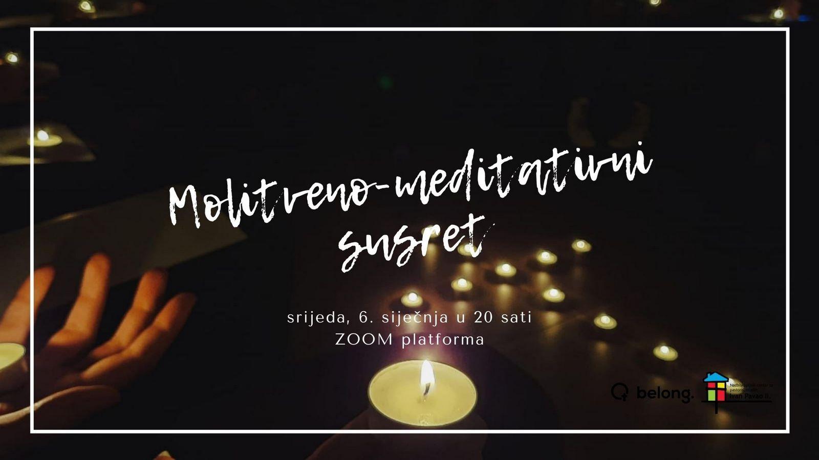 "Molitveno-meditativni susret ""BELONG"""