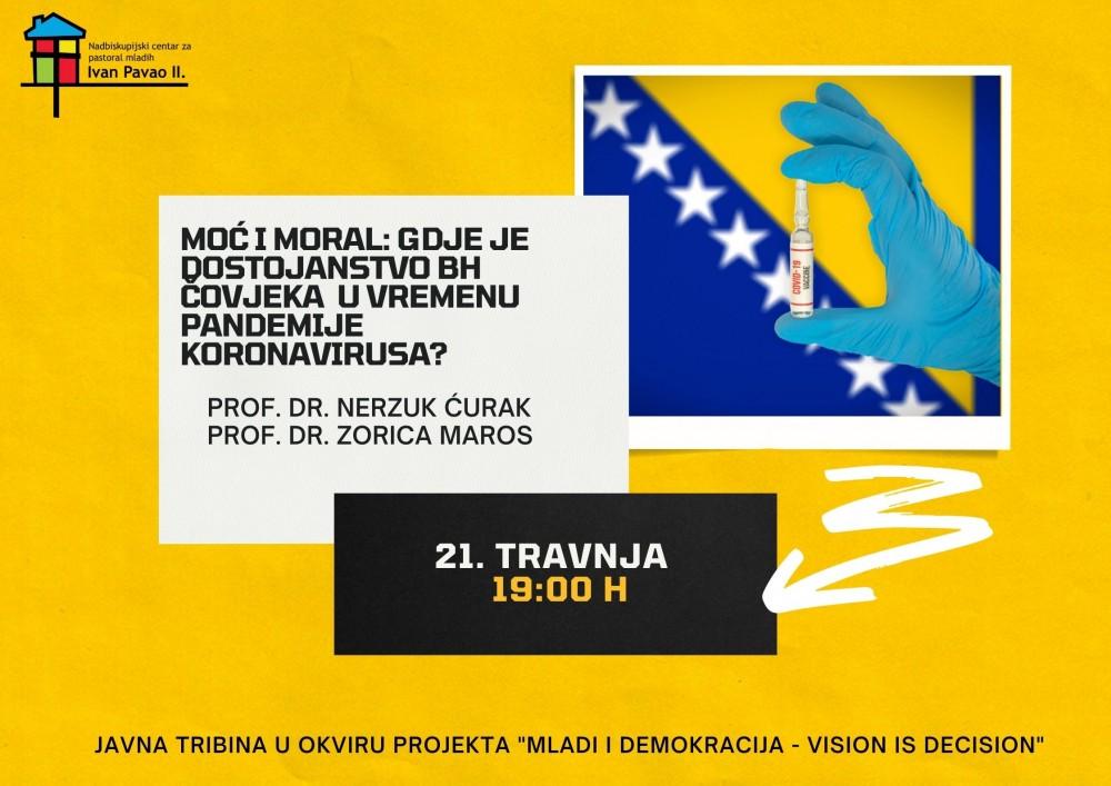 Mladi i demokracija: Poziv mladima za sudjelovanje u online javnoj tribini