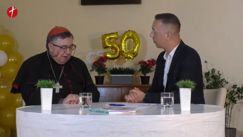 Kardinal Puljić: Evo, Gospa se vratila svojoj kući!
