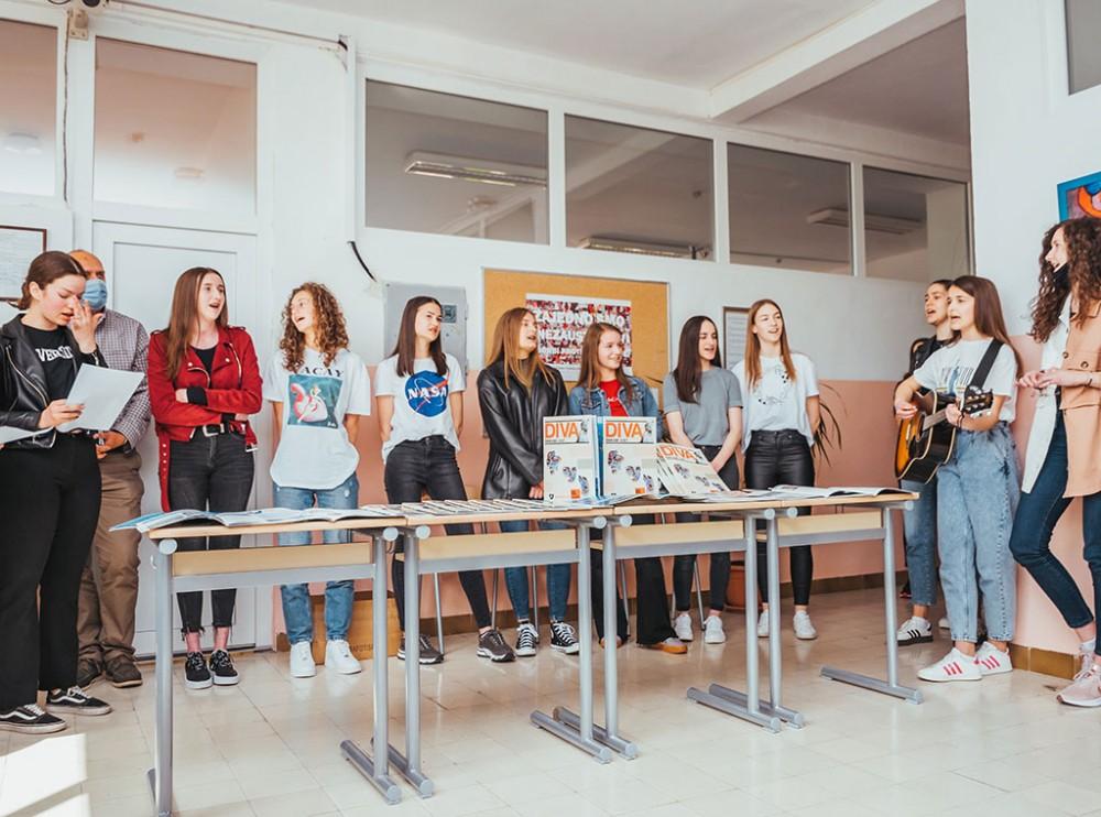 """Škola volonterizma: Učenici u Prozoru promovirali V. izdanje školskog časopisa """"Diva"""""""