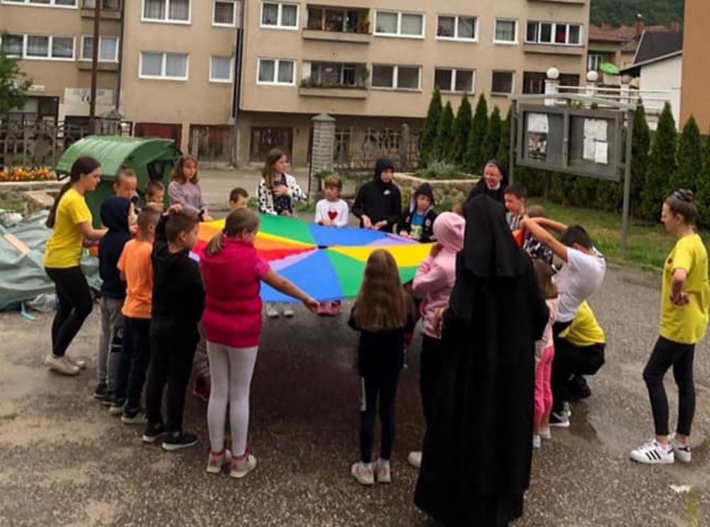Dječje ljeto u župi Uzašašća Gospodinova u Novom Travniku