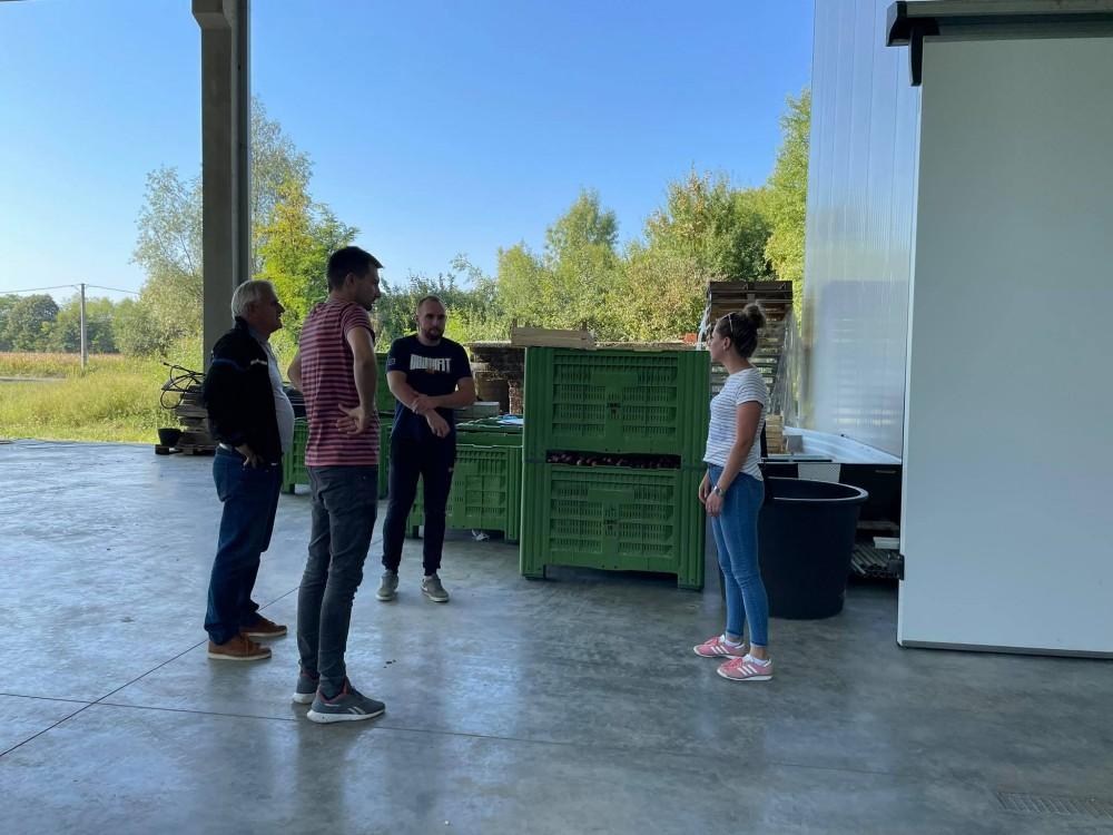 Mladi poljoprivrednici učili o načinima skladištenja voća
