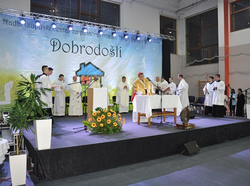 Proslavljen blagdan zaštitika Nadbiskupijskog centra za pastoral mladih Ivan Pavao II.